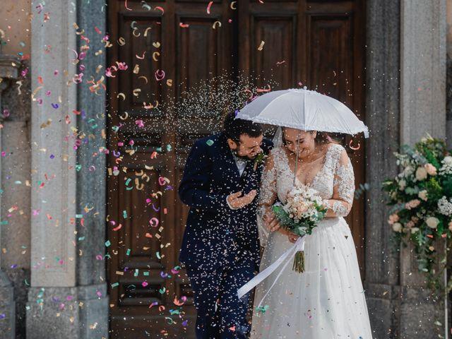 Il matrimonio di Nicola e Dania a Bellinzago Novarese, Novara 45
