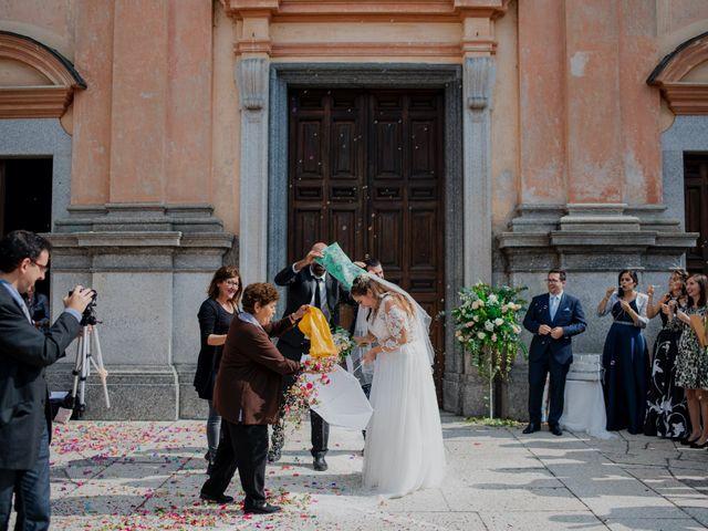 Il matrimonio di Nicola e Dania a Bellinzago Novarese, Novara 47