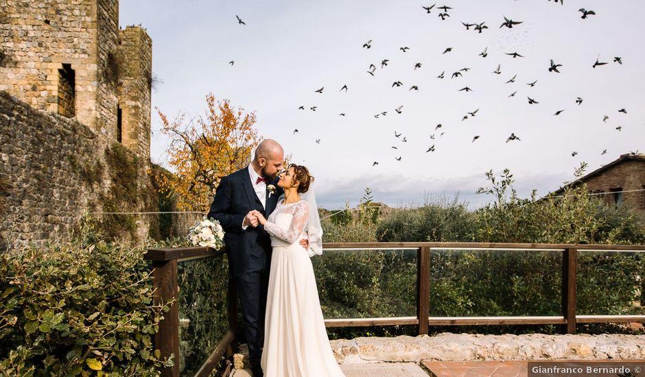 Il matrimonio di Francesco e Alessandra a Siena, Siena