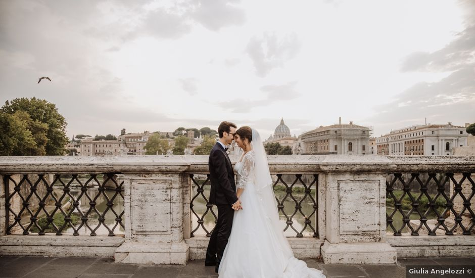 Il matrimonio di Andrea e Maria Stella a Roma, Roma