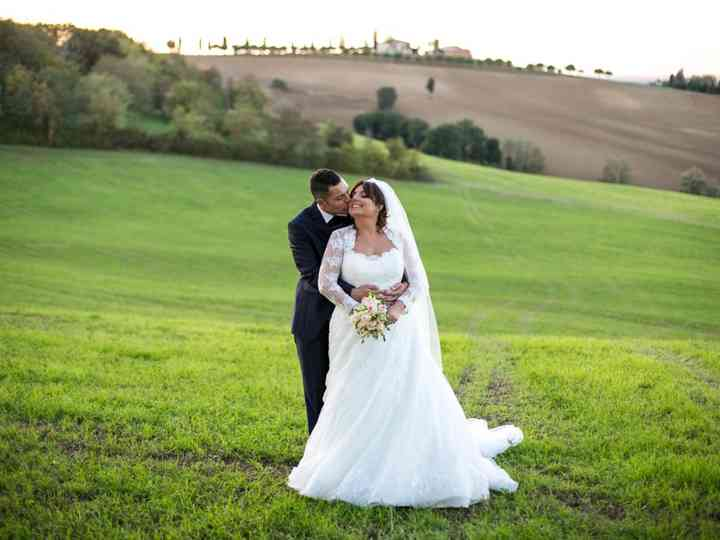 Le nozze di Luca e Valeria