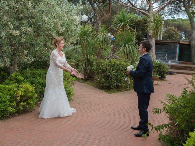 Il matrimonio di Claudio e Biagina a San Vincenzo, Livorno 26