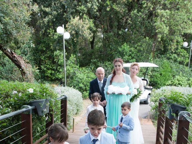 Il matrimonio di Claudio e Biagina a San Vincenzo, Livorno 179