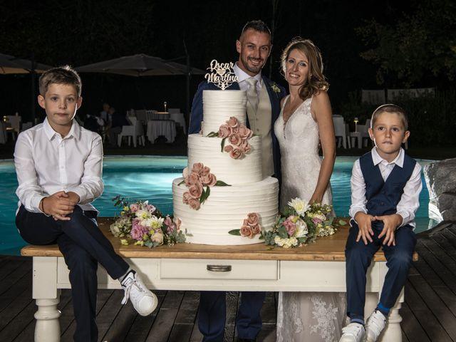 Il matrimonio di Oscar e Martina a Garlasco, Pavia 80