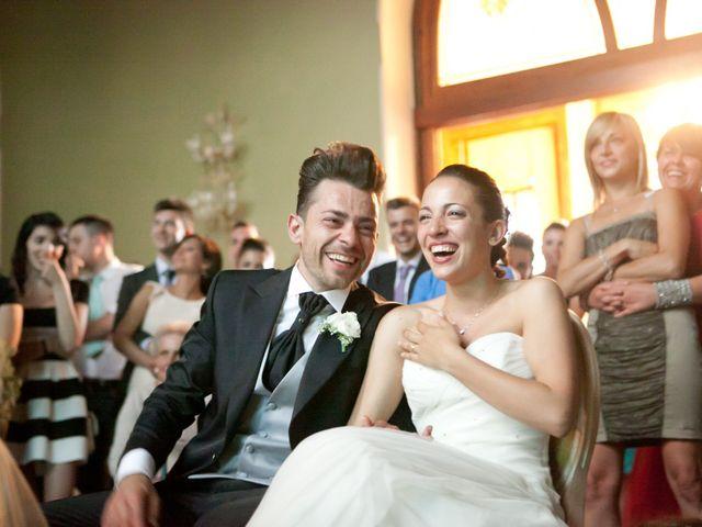 Il matrimonio di Mirko e Romina a Inverigo, Como 44
