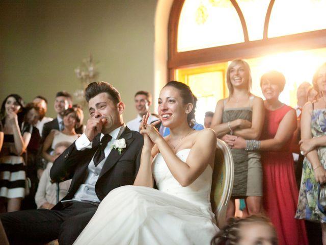 Il matrimonio di Mirko e Romina a Inverigo, Como 45