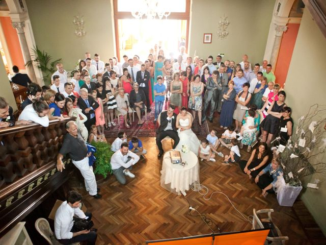 Il matrimonio di Mirko e Romina a Inverigo, Como 47