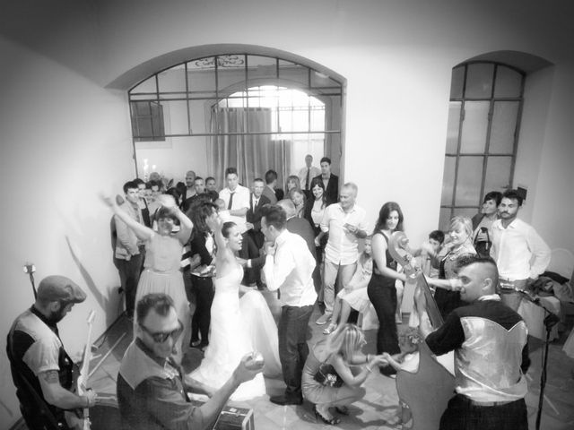 Le nozze di Romina e Mirko