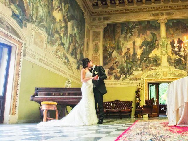 Il matrimonio di Mirko e Romina a Inverigo, Como 52