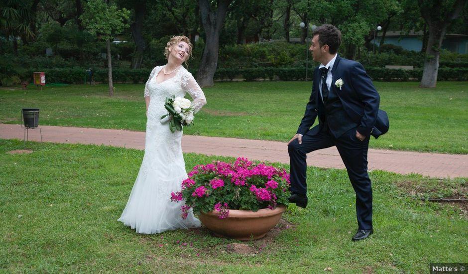 Il matrimonio di Claudio e Biagina a San Vincenzo, Livorno