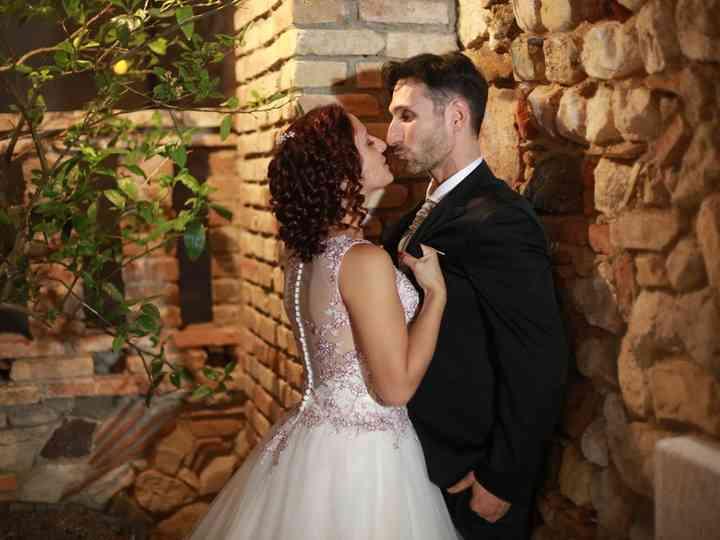 le nozze di Luana e Luciano