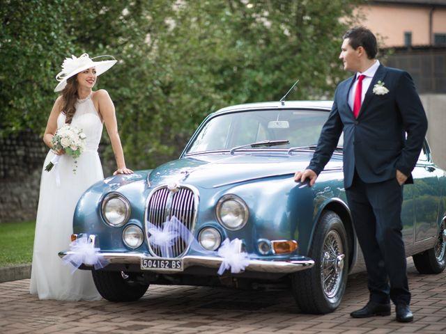 Il matrimonio di Mattia e Alice a Pumenengo, Bergamo 28