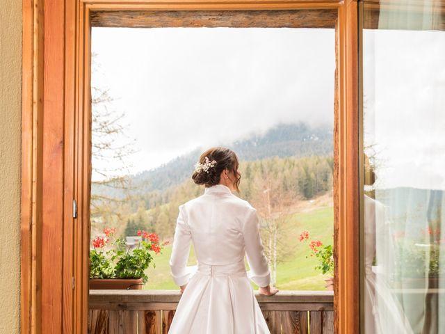 Il matrimonio di Andrea e Alice a Torgnon, Aosta 12