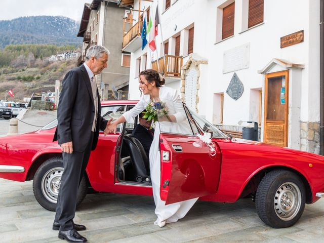 Il matrimonio di Andrea e Alice a Torgnon, Aosta 19