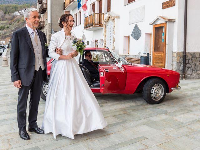 Il matrimonio di Andrea e Alice a Torgnon, Aosta 20
