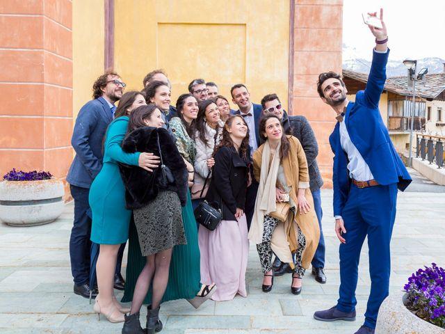 Il matrimonio di Andrea e Alice a Torgnon, Aosta 53