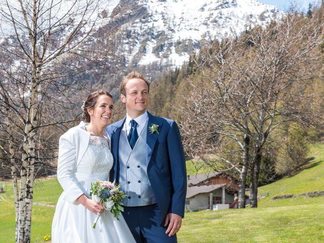 Il matrimonio di Andrea e Alice a Torgnon, Aosta 55