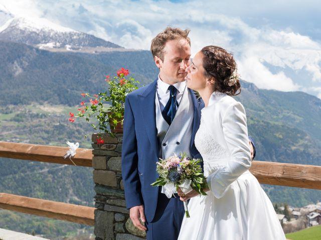 Il matrimonio di Andrea e Alice a Torgnon, Aosta 56