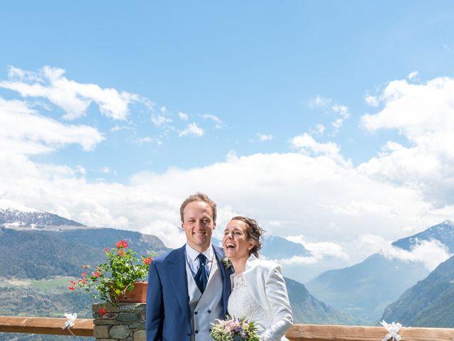 Il matrimonio di Andrea e Alice a Torgnon, Aosta 58