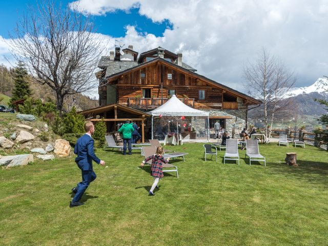 Il matrimonio di Andrea e Alice a Torgnon, Aosta 61