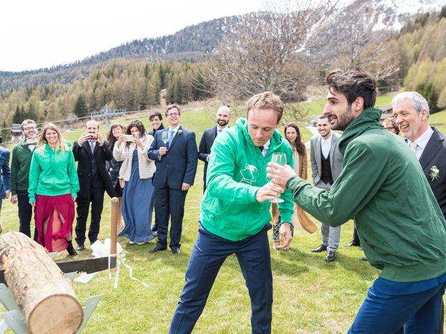 Il matrimonio di Andrea e Alice a Torgnon, Aosta 65