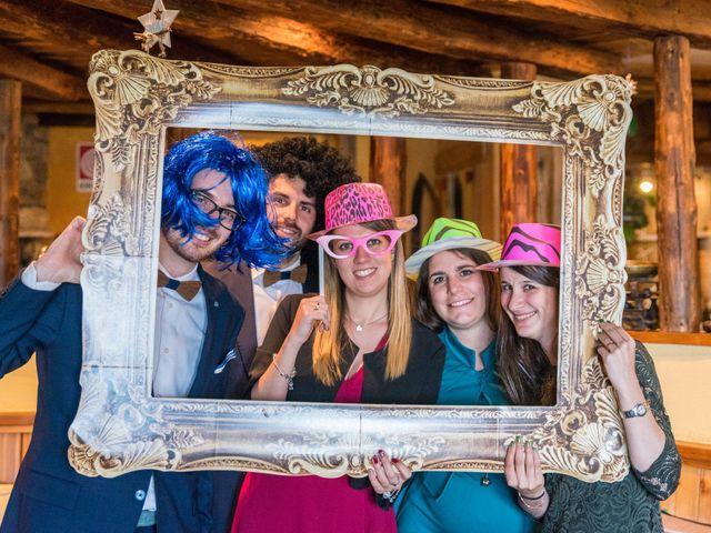Il matrimonio di Andrea e Alice a Torgnon, Aosta 71