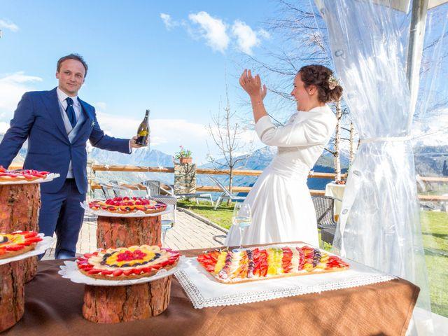 Il matrimonio di Andrea e Alice a Torgnon, Aosta 78