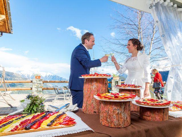 Il matrimonio di Andrea e Alice a Torgnon, Aosta 79