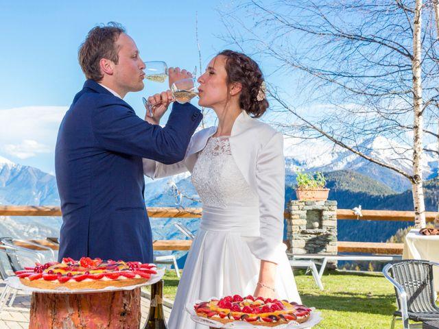 Il matrimonio di Andrea e Alice a Torgnon, Aosta 80