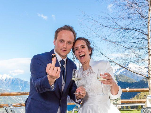 Il matrimonio di Andrea e Alice a Torgnon, Aosta 81