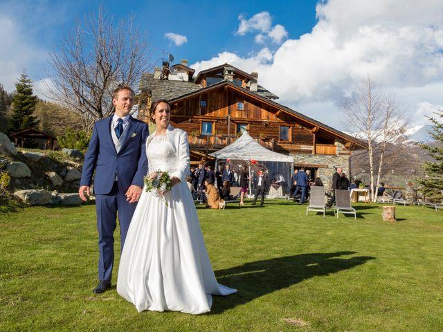 Il matrimonio di Andrea e Alice a Torgnon, Aosta 1