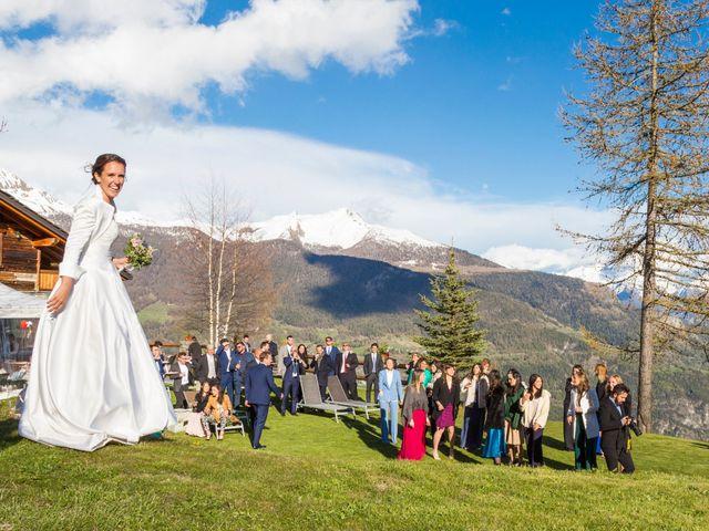 Il matrimonio di Andrea e Alice a Torgnon, Aosta 84