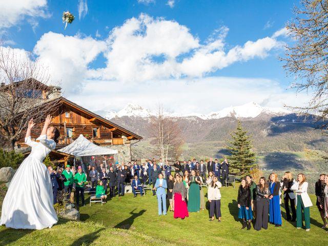 Il matrimonio di Andrea e Alice a Torgnon, Aosta 86