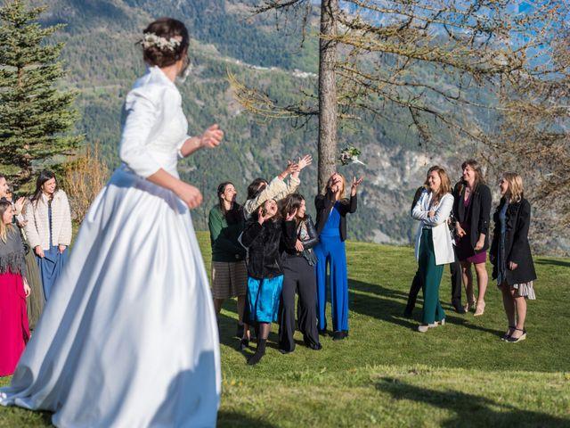 Il matrimonio di Andrea e Alice a Torgnon, Aosta 87