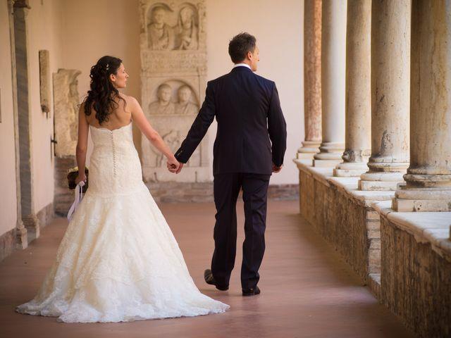 le nozze di Emanuela e Leonida