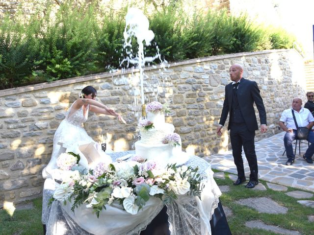 Il matrimonio di Alessandro e Arianna a Gualdo Tadino, Perugia 54