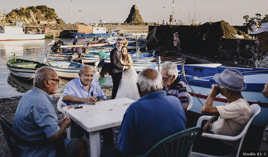 Il matrimonio di Gino e Laura a Acireale, Catania