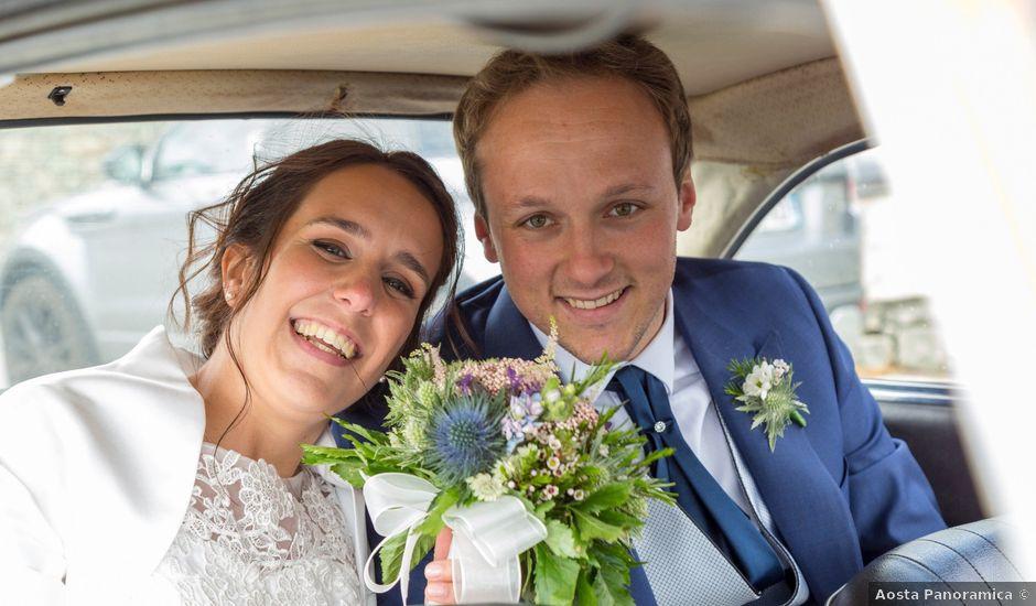 Il matrimonio di Andrea e Alice a Torgnon, Aosta