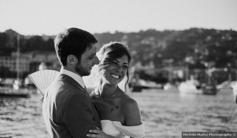 Il matrimonio di Cristoforo e Silvia a Santa Margherita Ligure, Genova