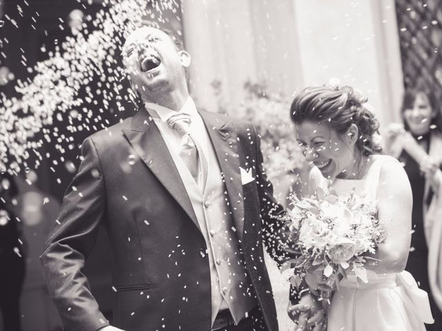 le nozze di Elisa e Oscar