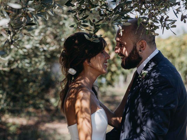 le nozze di Fabiana e Nazareno