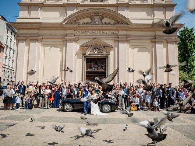 Il matrimonio di Filippo e Serena a Sulbiate, Monza e Brianza 45