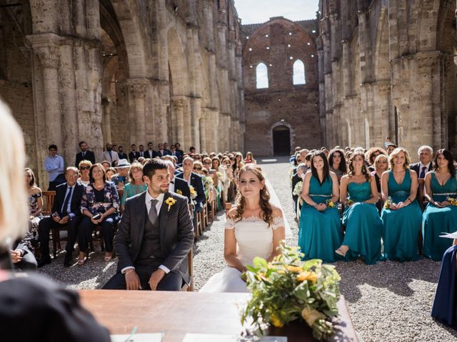 Il matrimonio di Sergio e Chiara a Siena, Siena 35