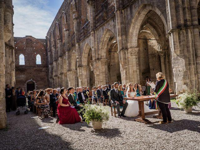 Il matrimonio di Sergio e Chiara a Siena, Siena 38