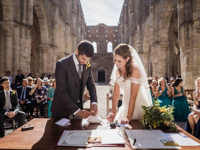 Il matrimonio di Sergio e Chiara a Siena, Siena 40