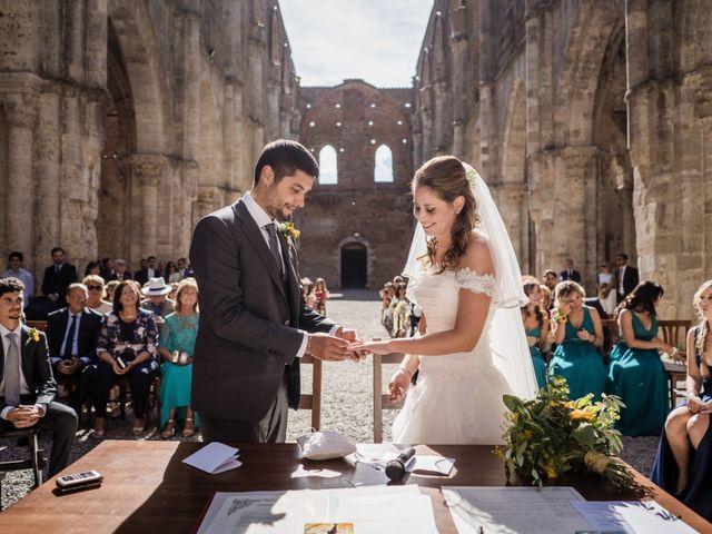 Il matrimonio di Sergio e Chiara a Siena, Siena 41