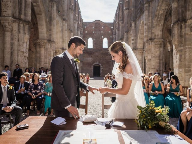 Il matrimonio di Sergio e Chiara a Siena, Siena 42