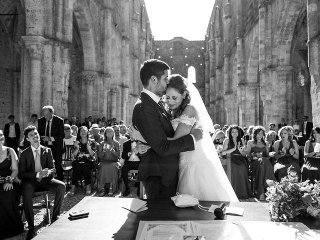 Il matrimonio di Sergio e Chiara a Siena, Siena 44