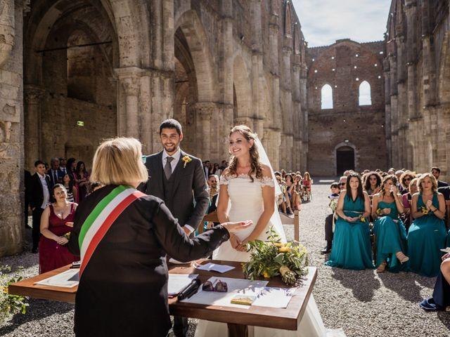 Il matrimonio di Sergio e Chiara a Siena, Siena 46