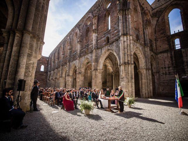 Il matrimonio di Sergio e Chiara a Siena, Siena 50